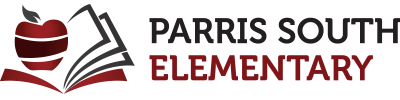 New Home of Parris South Elementary Retina Logo
